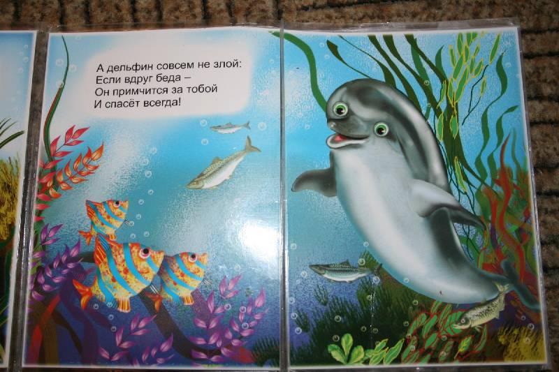 Иллюстрация 5 из 6 для Книжка-непромокашка: Морская прогулка - Сергей Тетерин   Лабиринт - книги. Источник: Счастливая мама