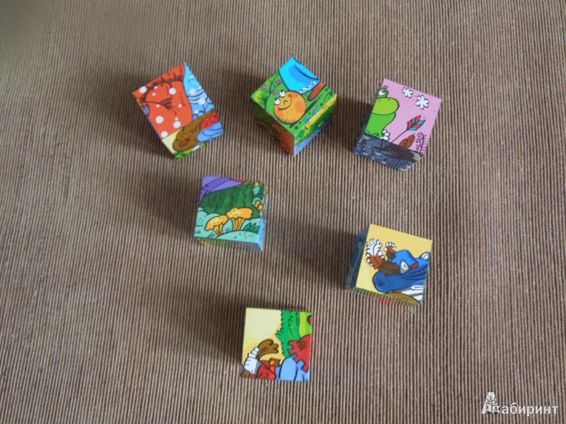 Иллюстрация 5 из 13 для Кубики для самых маленьких Baby Step, 6 штук, в ассортименте (87132) | Лабиринт - игрушки. Источник: ealaz
