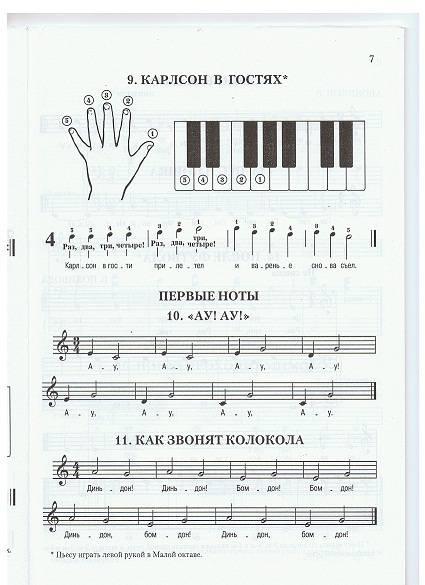 сборники по фортепиано с картинками