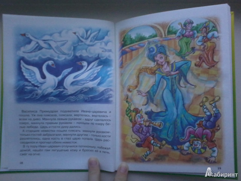 Иллюстрация 20 из 46 для Царевна-лягушка | Лабиринт - книги. Источник: Данилка