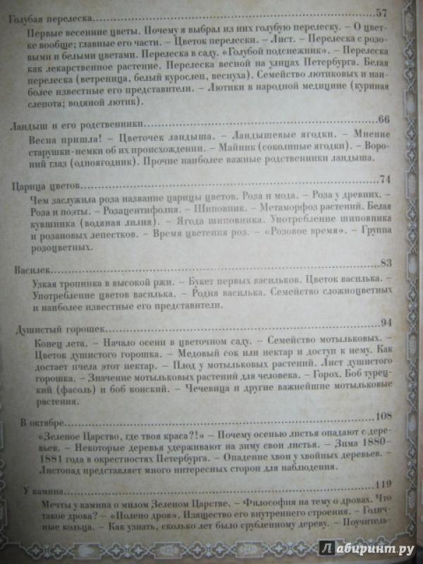 Иллюстрация 7 из 40 для Из Зеленого Царства. Популярные очерки из мира растений - Дмитрий Кайгородов   Лабиринт - книги. Источник: Евгения39