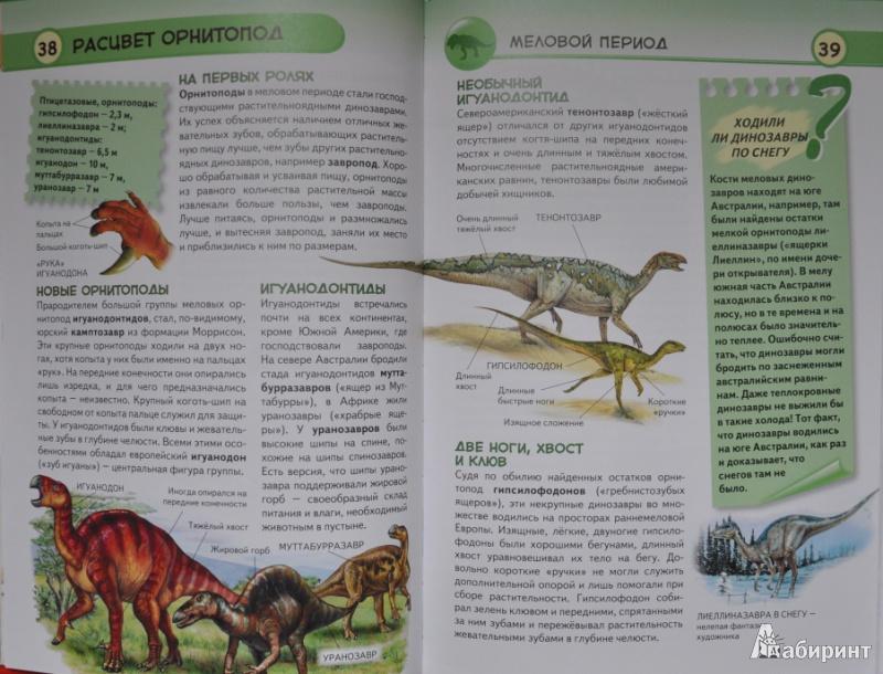 Иллюстрация 15 из 33 для Динозавры. Ящеры мезозойской эры - Юлия Школьник   Лабиринт - книги. Источник: NDusha
