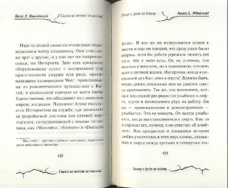 Иллюстрация 14 из 15 для Сцены из жизни за стеной - Януш Вишневский | Лабиринт - книги. Источник: ЛиС-а