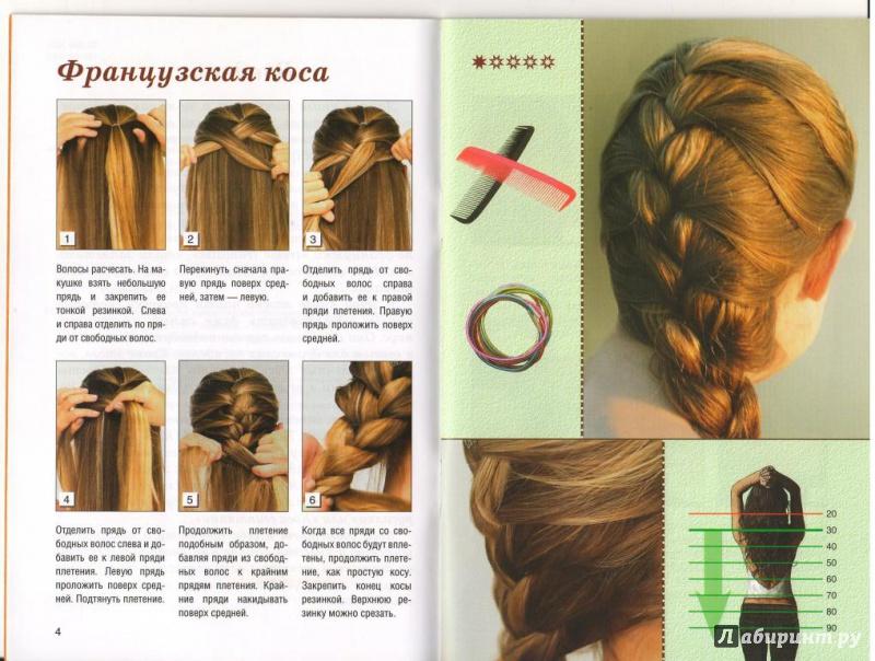 картинки пошаговое плетение из волос сериале
