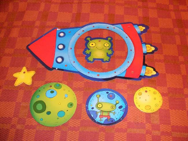 Иллюстрация 1 из 2 для Мобиль: Ракета | Лабиринт - игрушки. Источник: Kolibri308