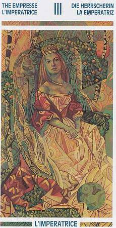 "Иллюстрация 26 из 37 для Таро ""Мистика Витражей"" | Лабиринт - книги. Источник: Olla-la"