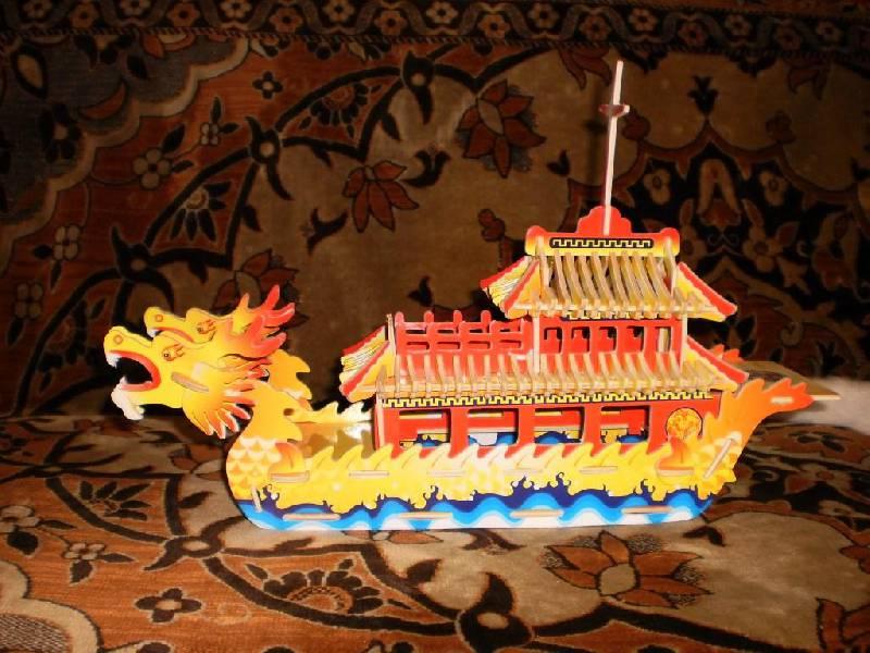 Иллюстрация 1 из 3 для Лодка Дракон (РС085) | Лабиринт - игрушки. Источник: Косенко  Евгений Евгеньевич