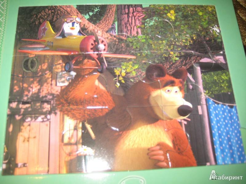 Иллюстрация 5 из 9 для Подкидыш. Маша и Медведь | Лабиринт - игрушки. Источник: Ярославна ))