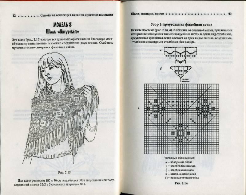 Иллюстрация 12 из 24 для Шали, пончо, накидки | Лабиринт - книги. Источник: Юта