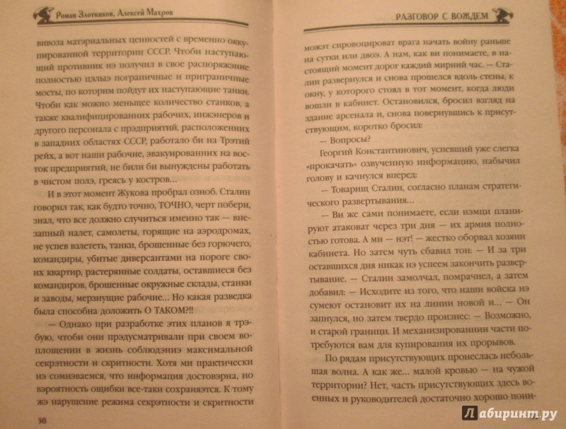 Иллюстрация 23 из 37 для Разговор с Вождем - Злотников, Махров | Лабиринт - книги. Источник: NiNon