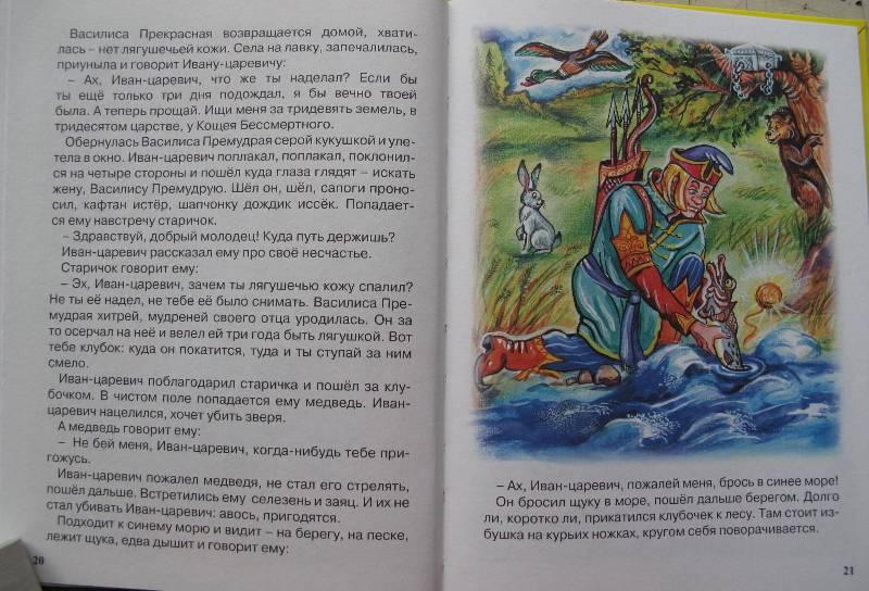 Иллюстрация 31 из 46 для Царевна-лягушка | Лабиринт - книги. Источник: lirakat