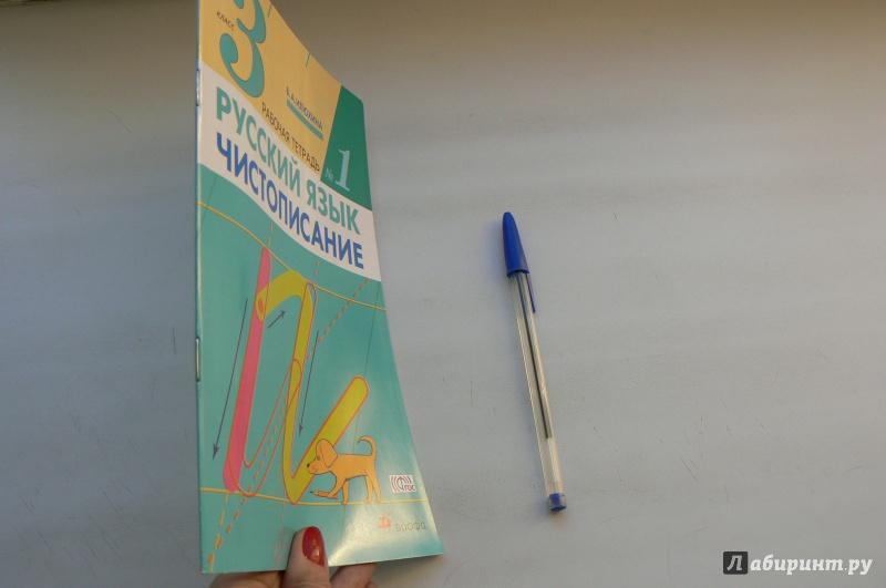 Иллюстрация 1 из 4 для Русский язык. Чистописание. 3 класс ...