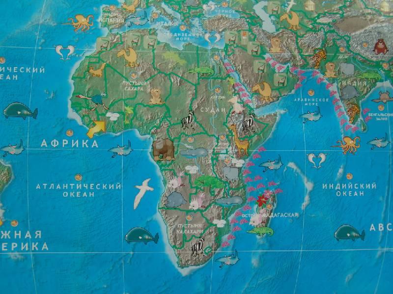 Иллюстрация 10 из 17 для Говорящая карта мира (6249) | Лабиринт - игрушки. Источник: Лаванда