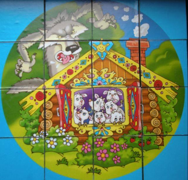 Иллюстрация 1 из 3 для Кубики Цветные сказки - 2 (00444) | Лабиринт - игрушки. Источник: Кин-дза-дза