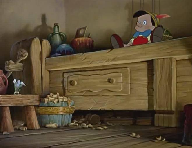 Иллюстрация 1 из 24 для Пиноккио (DVD) - Ласки, Шарпстин | Лабиринт - видео. Источник: Galia