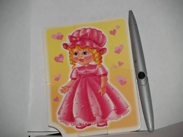 Иллюстрация 1 из 9 для Мягкий пазл. Куклы (01838)   Лабиринт - игрушки. Источник: Cовушка