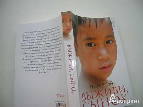 Иллюстрация 1 из 10 для Выживи, сынок - Пин Ятай | Лабиринт - книги. Источник: Анна  Владимировна