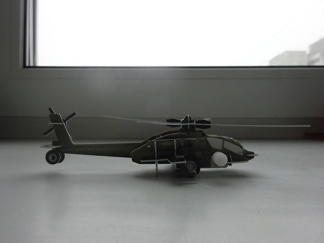 Иллюстрация 9 из 16 для 3D-пазл. Волшебный механизм. Вертолет   Лабиринт - игрушки. Источник: Iliy
