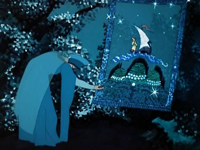 меня есть ковры из сказки царевна лягушка картинка русской финской