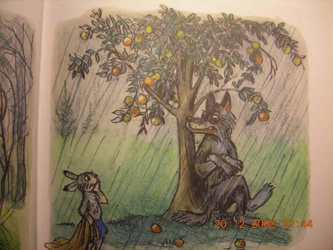 Картинки к сказке сутеева мешок яблок