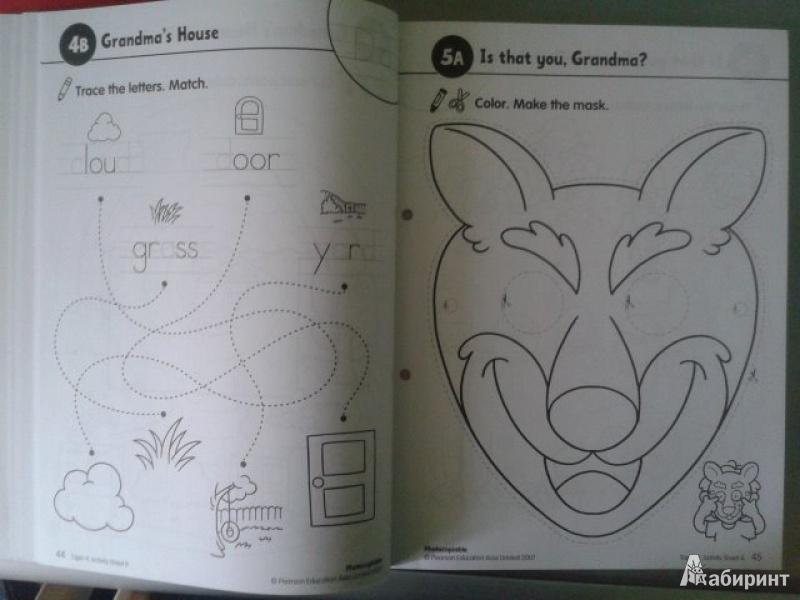 Иллюстрация 5 из 14 для Longman Young Children's Picture Dictionary. Activity Resource Book | Лабиринт - книги. Источник: Fleure