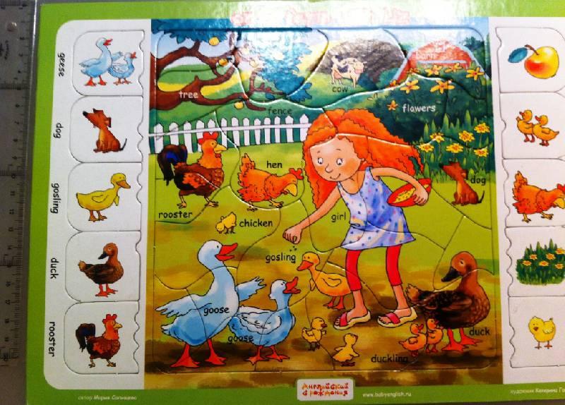 Иллюстрация 1 из 6 для На ферме с Лиз. Пазлы - Мария Салищева   Лабиринт - игрушки. Источник: masmar.su