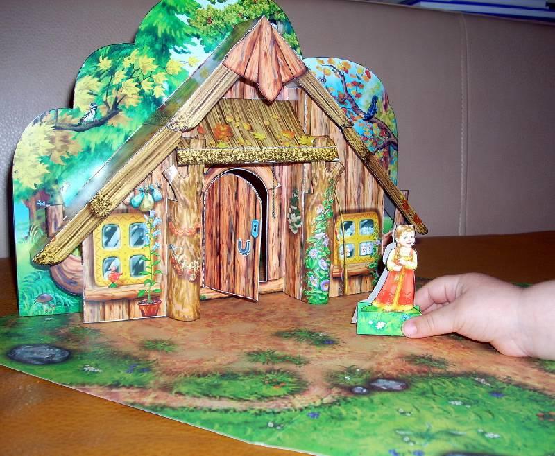 подьема или картинки макет декораций сказки куклы текстильных