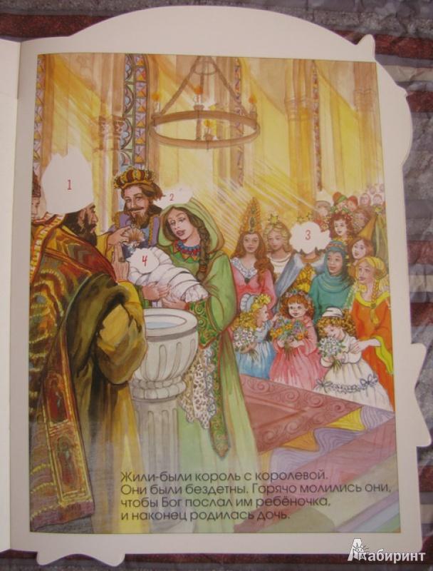 Иллюстрация 1 из 10 для Принцессы и феи. Спящая красавица   Лабиринт - книги. Источник: С.  Надежда