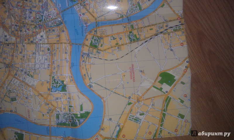 Иллюстрация 5 из 7 для Санкт-Петербург. Карта | Лабиринт - книги. Источник: Гончарова  Мария Владимировна