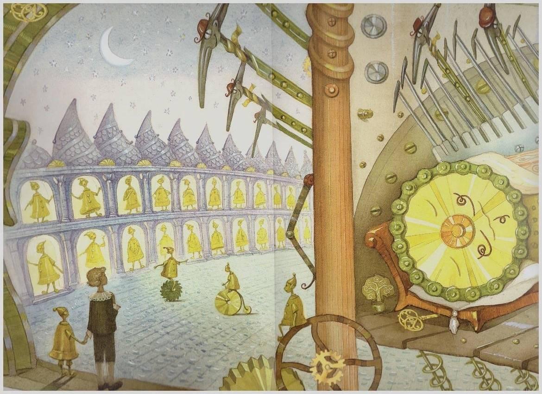 Картинки по рассказу городок в табакерке