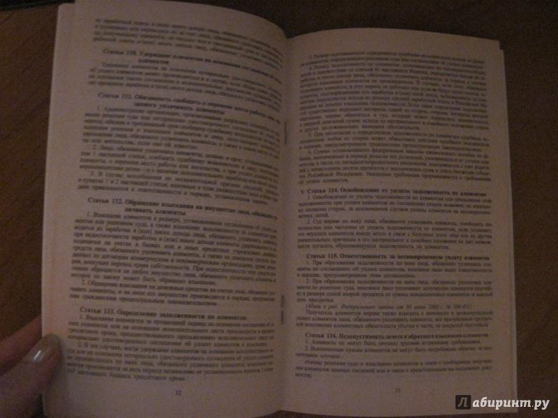 Иллюстрация 3 из 8 для Семейный кодекс Российской Федерации по состоянию на 25 сентября 2013 года | Лабиринт - книги. Источник: Мельникова  Ирина