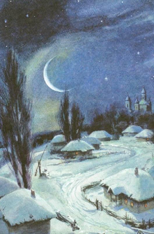 Иллюстрация 71 из 94 для Вечера на хуторе близ Диканьки - Николай Гоголь   Лабиринт - книги. Источник: Zhanna