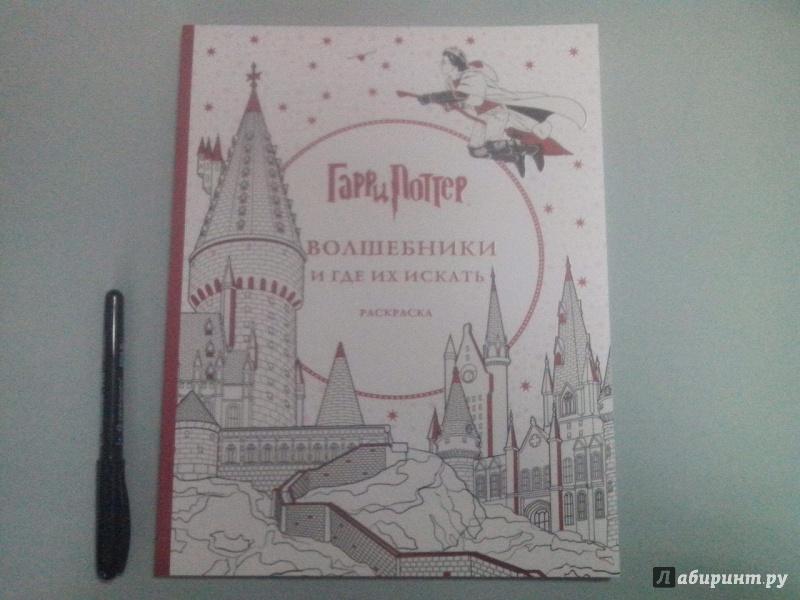 Иллюстрация 12 из 60 для Гарри Поттер. Волшебники и где их ...