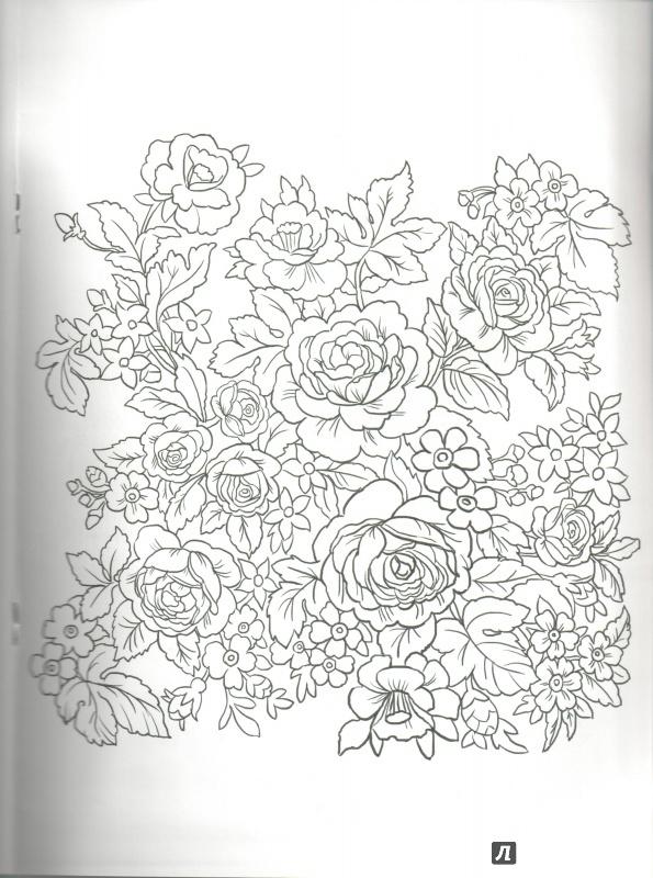 иллюстрация 6 из 10 для посмотри и раскрась павлопосадский