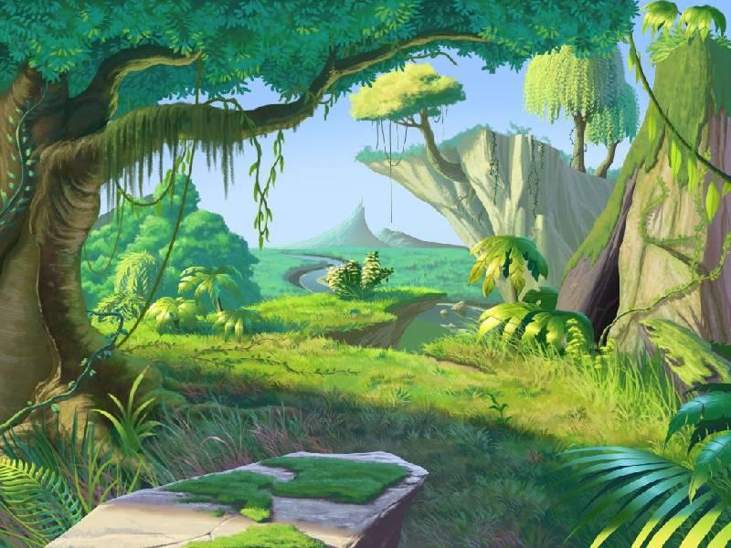 Картинки джунгли детские