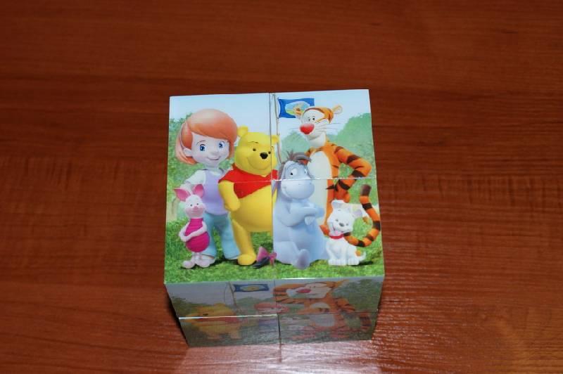 """Иллюстрация 13 из 13 для Магнитные кубики-пазлы """"Мои друзья Тигр и Пух"""" (8 кубиков, 12 пазлов) (14065)   Лабиринт - игрушки. Источник: Blossom"""