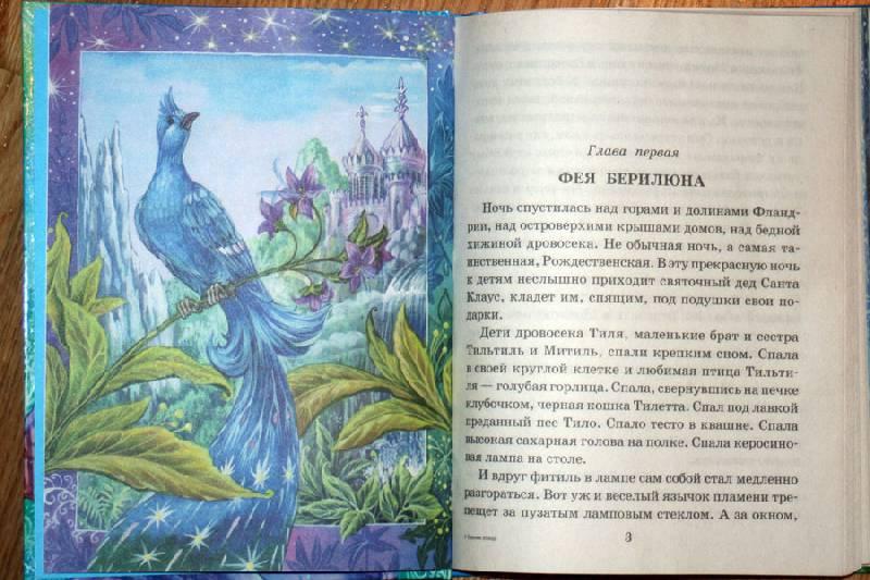 Картинки к сказке синяя птица метерлинк