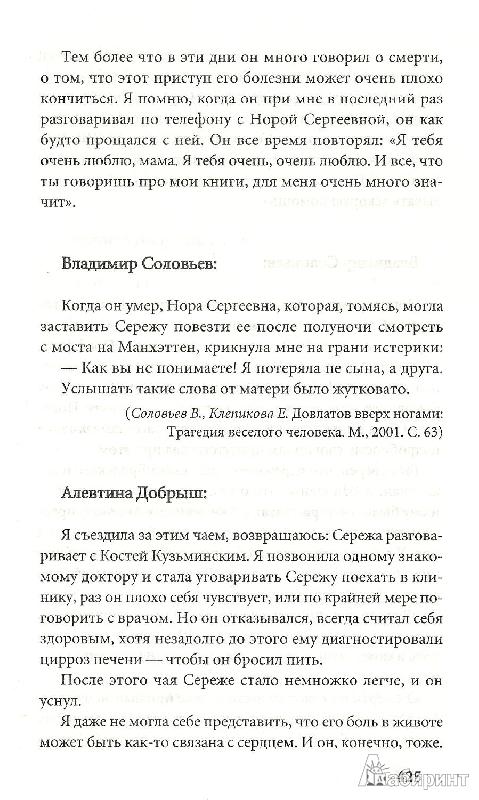 Иллюстрация 15 из 17 для Довлатов - Ковалова, Лурье | Лабиринт - книги. Источник: Betty