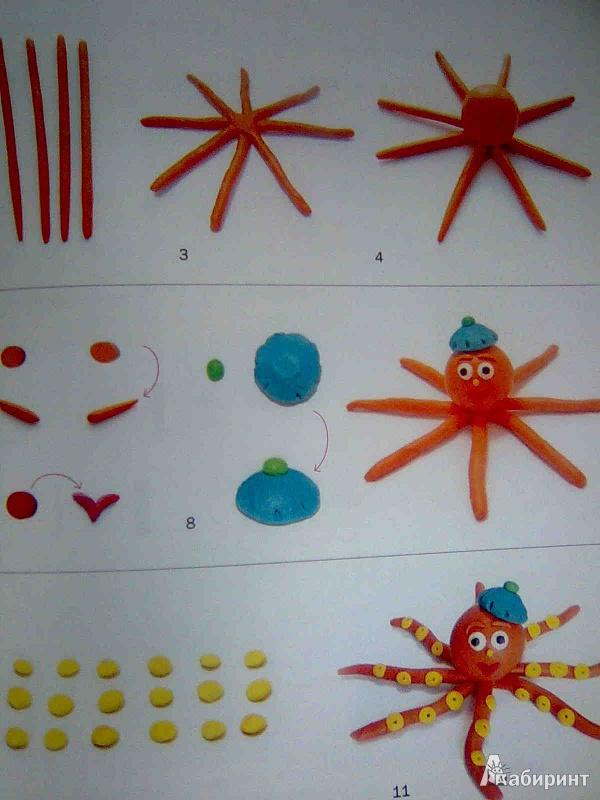 Иллюстрация 11 из 33 для Зверушки из пластилина - Светлана Лесовская   Лабиринт - книги. Источник: Салус