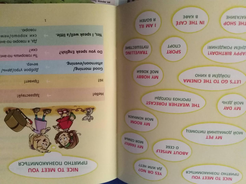 Иллюстрация 18 из 18 для Разговорные шаблоны английского языка. 2-4 классы - Марина Селиванова   Лабиринт - книги. Источник: Н.  Анастасия
