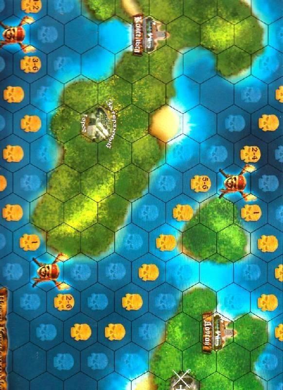 Иллюстрация 1 из 6 для Пираты Карибского моря: Настольная игра (8673) | Лабиринт - игрушки. Источник: Наталья'