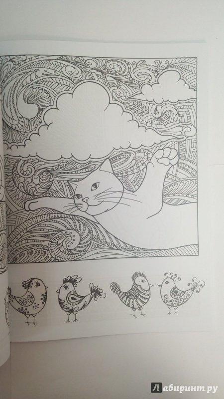 Иллюстрация 6 из 23 для Котомудрости. Раскраска для ...