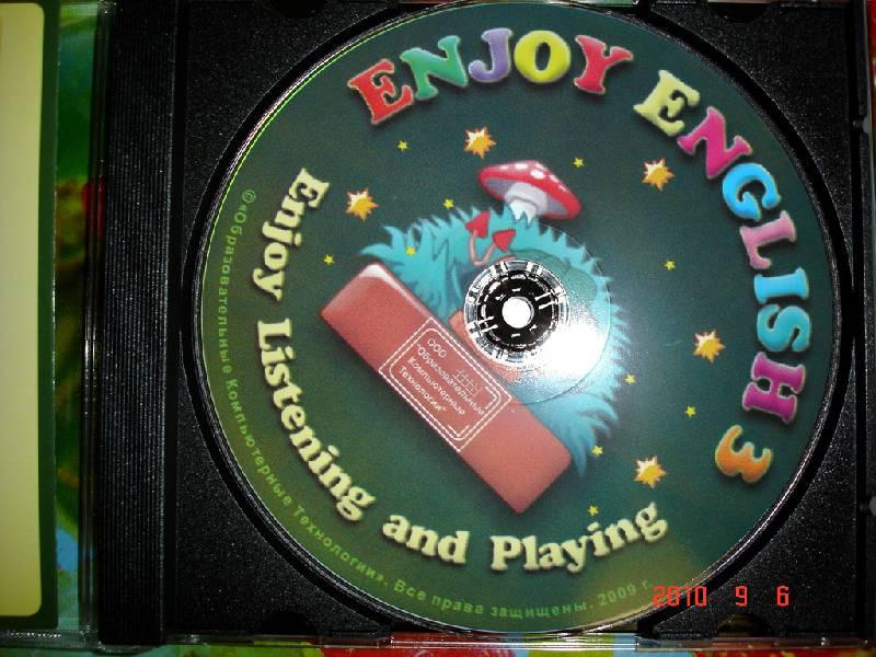 Иллюстрация 1 из 4 для Enjoy English-3. Enjoy, Listening and Playing (CDpc). ФГОС   Лабиринт - . Источник: пАдонак