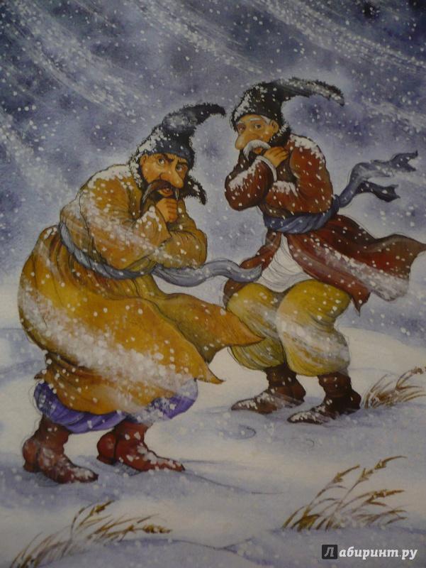 Картинки к сказке перед рождеством