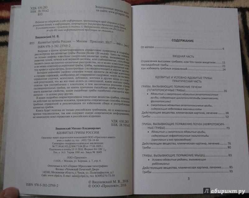 Иллюстрация 3 из 18 для Ядовитые грибы России - Михаил Вишневский | Лабиринт - книги. Источник: Попов  Андрей