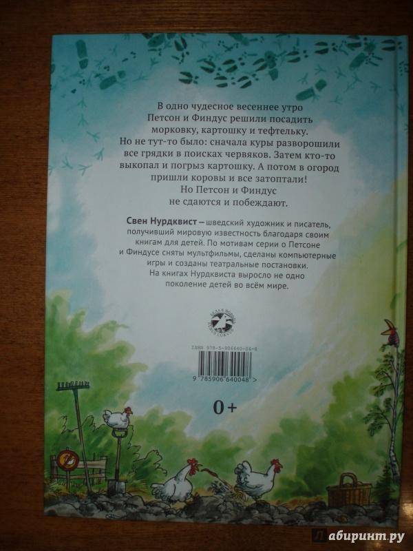 Иллюстрация 53 из 57 для Переполох в огороде - Свен Нурдквист | Лабиринт - книги. Источник: juka-julia