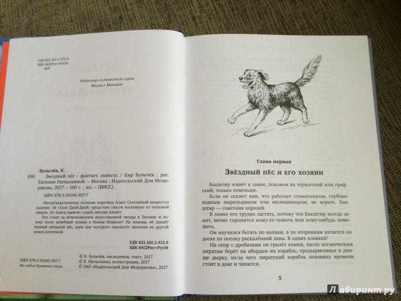 Иллюстрация 9 из 41 для Звёздный пёс - Кир Булычев | Лабиринт - книги. Источник: Буракова  Елена