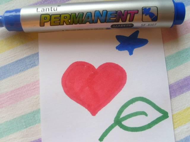 Иллюстрация 1 из 3 для Маркер перманентный Lantu (синий) | Лабиринт - канцтовы. Источник: Жбанкова  Анастасия Александровна