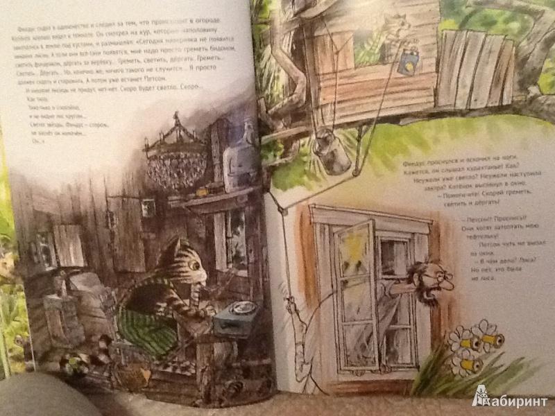 Иллюстрация 12 из 57 для Переполох в огороде - Свен Нурдквист | Лабиринт - книги. Источник: Monplesir