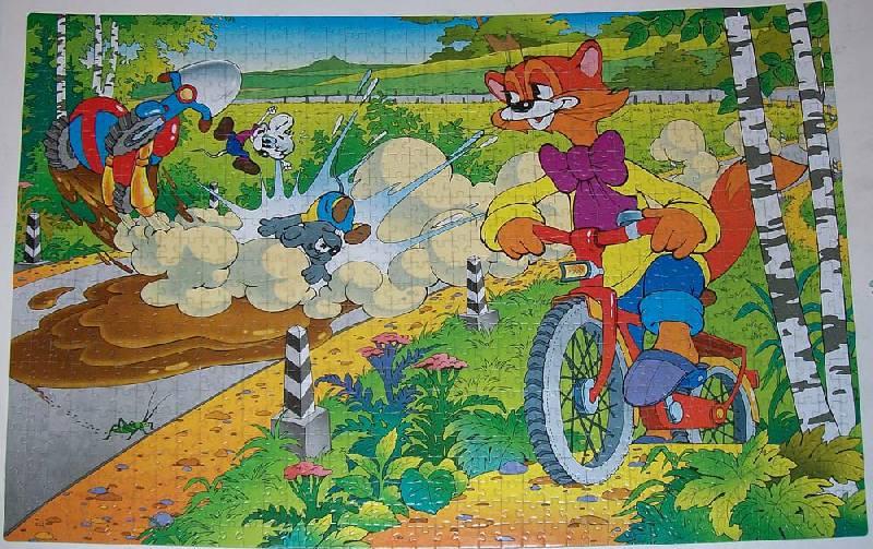 Картинка кот леопольд пазлы